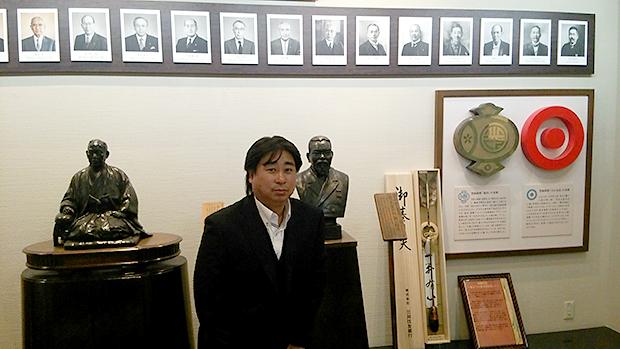 日本ペイントホールディングス(株)大阪本社 日本ペイント歴史館にて