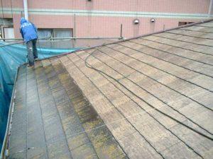 築25年程一度も手を入れなかった屋根